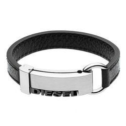Diesel Step Up Steel Bracelet Bransoletka black