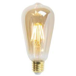 Zestaw 5 zarówek LED Goldline filament E27 5W 360lm ST64 sciemnialna