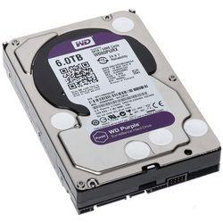 Dysk twardy Western Digital WD60PURX - pojemność: 6 TB, cache: 64MB, SATA III, 5400 obr/min