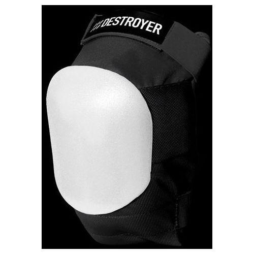 Ochraniacze na ciało, ochraniacz kolan DESTROYER - Am Knee Black/White (BWT) rozmiar: S