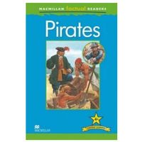 Książki do nauki języka, Pirates. Macmillan Factual Readers. Poziom 4+ (opr. miękka)