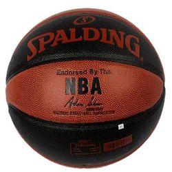 Piłka koszowa Spalding NBA Grip Control Indoor-Outdoor czarno-pomarańczowa
