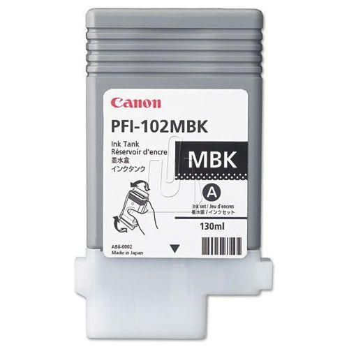 Tusze do drukarek, Tusz Canon PFI102-MBK Matte Black