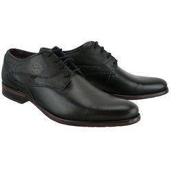 BUGATTI 311-16304-2514-1110 dark grey/black, półbuty męskie