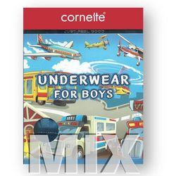 Cornette bokserki Kids 701 Rozmiar: 110/116, Kolor: Czerwony