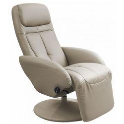 Fotel wypoczynkowy Timos - cappuccino