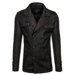 Płaszcz męski zimowy czarny Denley 3142