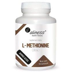 L-Metionina L-Methionine 500mg 100 kapsułek vege caps Aliness