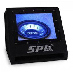 """SPL 25cm (10"""") subwoofer samochodowy z efektem świetlnym LED"""