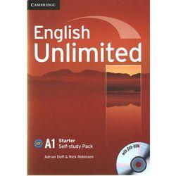English Unlimited Starter Workbook (zeszt ćwiczeń) with DVD-ROM (opr. miękka)