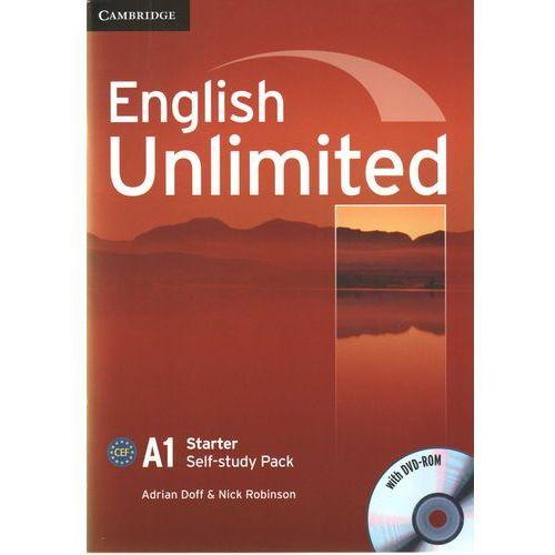 Książki do nauki języka, English Unlimited Starter Workbook (zeszt ćwiczeń) with DVD-ROM (opr. miękka)
