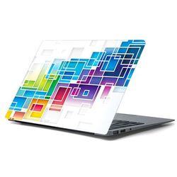 Naklejka na laptopa - Kolorowe prostokąty 4353