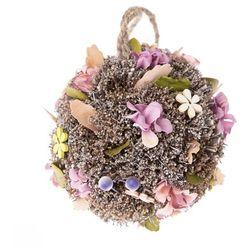Kula do zawieszenia ze sztucznymi kwiatami Leerdam, śr. 11 cm