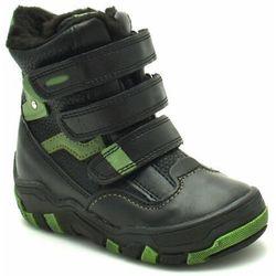Buty zimowe dla dzieci marki Kornecki 04997 Czarne Obniżka ceny na 99,90zł (-23%)