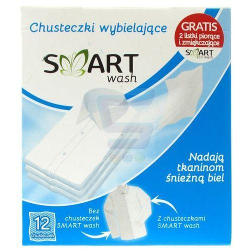 Wybielacze i odplamiacze, Chusteczki wybielające Smart Wash (12 sztuk)
