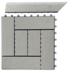 Paski przejściowe G21 dla płytek WPC IncanaImpregnat, 38,5x7,5 cm rogu (lewy)
