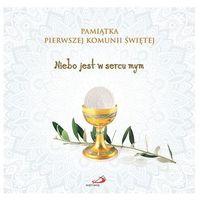 Albumy, Pamiątka Pierwszej Komunii Świętej. Niebo jest w sercu mym (opr. twarda)