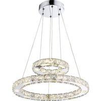 Lampy sufitowe, Lampa wisząca Globo Marilyn I 67037-24AA lampa sufitowa zwis 1x24W LED chrom