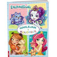 Książki dla dzieci, Enchantimals. Naklejam i Koloruję