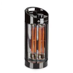 Blumfeldt Heat Guru 360 Stojący grzejnik promiennikowy 1200/600 W 2 stopnie grzewcze IPX4 kolor czarny