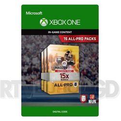 Madden NFL 17 - 15 All Pro Packs [kod aktywacyjny]