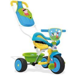 Smoby Trójkołowy rowerek Be Move Confort Świnka Peppa