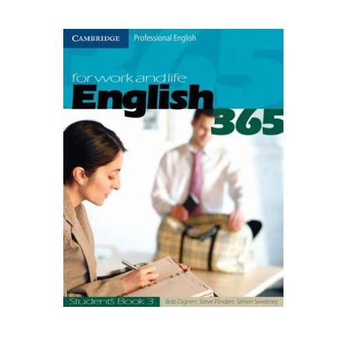Książki do nauki języka, English for work and life 365 students book 3 (opr. miękka)