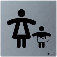 Oznakowanie informacyjne i ostrzegawcze, Piktogram pomieszczenie dla matki z dzieckiem Merida