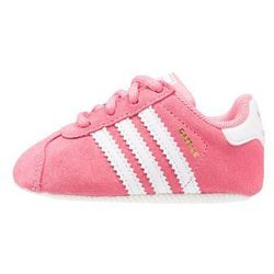 adidas Originals GAZELLE CRIB Obuwie do raczkowania chalk pink/footwear white