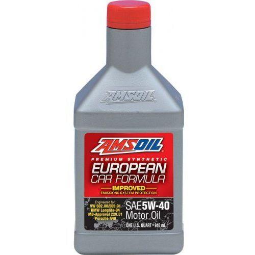 Oleje silnikowe, AMSOIL European Car Formula 5W40 MID-SAPS 0,946 l