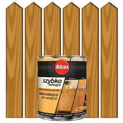 Lakierobejca do drewna SZYBKOSCHNĄCA 0,75 lDąb ALTAX