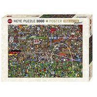 Puzzle, Puzzle 3000 EL. Historia piłki nożnej