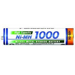 akumulatorki Panasonic R03 AAA Ni-MH 1000mAh - 1 sztuka
