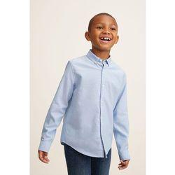 Mango Kids - Koszula dziecięca Oxford 104-164 cm