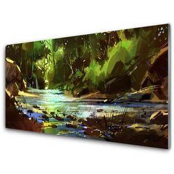 Panel Kuchenny Las Jezioro Kamienie Natura