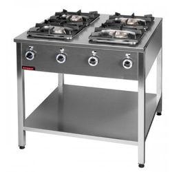 Kuchnia gazowa 4 palnikowa - Kromet 000.KG-4L