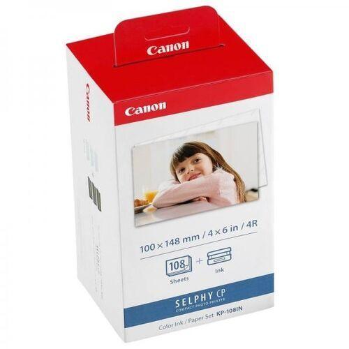 Papiery i folie do drukarek, Canon papier termosublimacyjny KP-108IN, KP108IN, 3115B001AA, 100 mm. x 148 mm.
