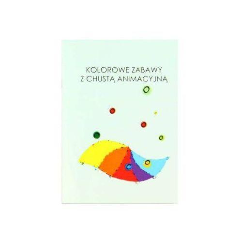Pozostałe zabawki, Książka Kolorowe zabawy z chustą animacyjną - 1 szt.