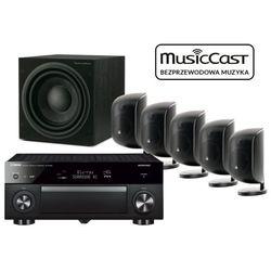 Yamaha MusicCast RX-A880 + 5 x M-1 + ASW 610