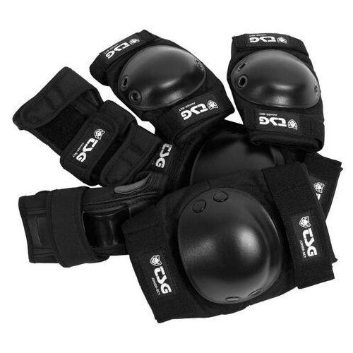 Ochraniacze na ciało, ochraniacze TSG - Junior-Set Black (102)