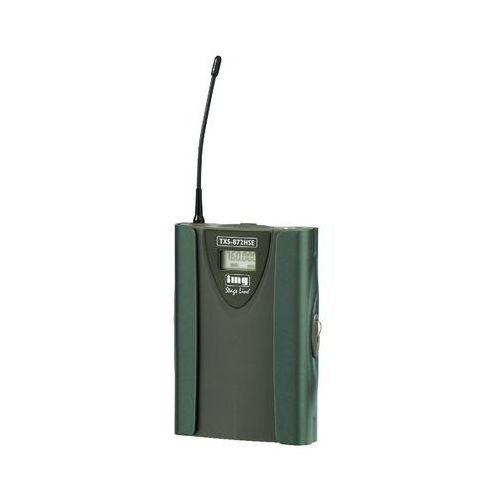 Pozostały sprzęt estradowy, Monacor TXS 872HSE Wielozakresowy nadajnik kieszonkowy z mini XLR Płacąc przelewem przesyłka gratis!