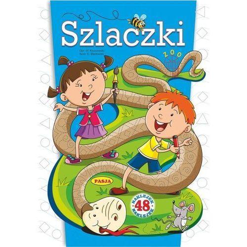 Książki dla dzieci, Szlaczki. 48 naklejek