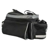 Sakwy, torby i plecaki rowerowe, Torba na bagażnik Author A-N216 X7 czarna