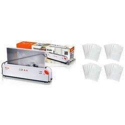 Termobindownica Peach A4 Thermal Binder - PB200-70 + Zestaw okładek Opus, białe, 4 x 5 sztuk (do 15/30/40/60 kartek)