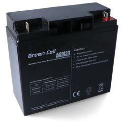 Akumulator AGM 12V 18Ah Green Cell