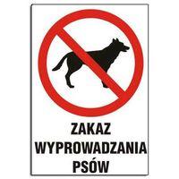 Oznakowanie informacyjne i ostrzegawcze, ZI-9 - ZNAK TABLICA- Zakaz wyprowadzania psów