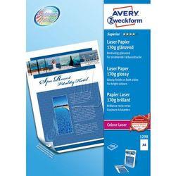 Papier fotograficzny błyszczący 170g 210 x 297mm 200 arkuszy Avery Zweckform 129