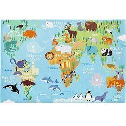 Dywan torino kids mapa świata 160 x 230 cm