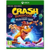 Gry na Xbox One, Crash Bandicoot 4 Najwyższy Czas (Xbox One)