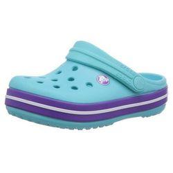 Klapki Crocs Crocband dla dzieci Błękitno-fioletowe